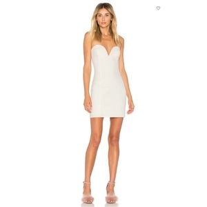 🆕 BY THE WAY ALESSIA SWEETHEART BODYCON MINI NWOT